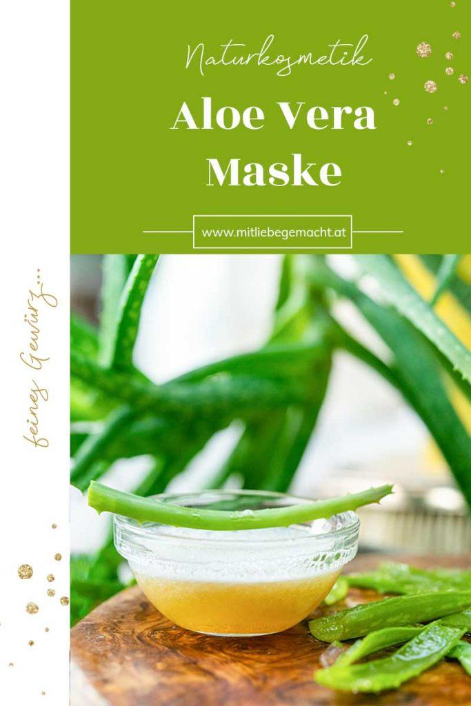 Aloe Vera Maske mit Honig - Jungbrunnen für die Haut