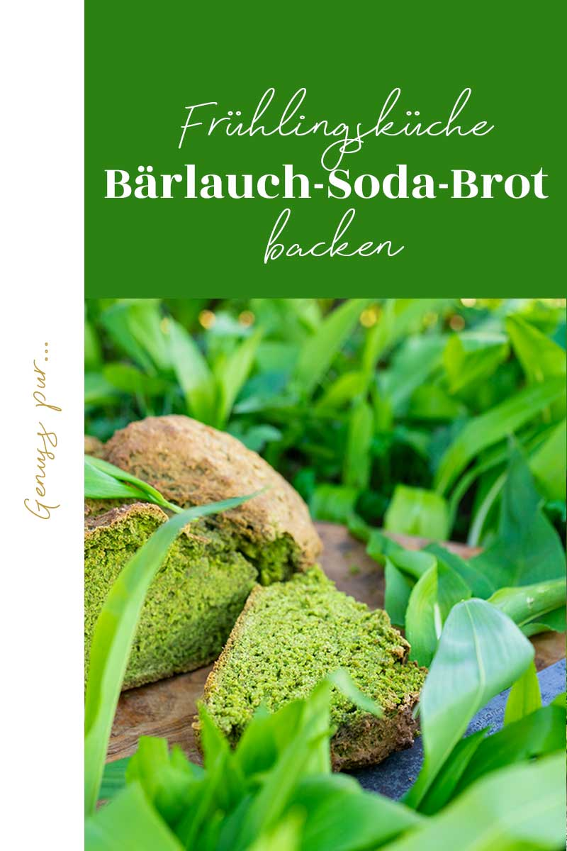 Bärlauch Sodabrot – würziger Frühlingsgenuss