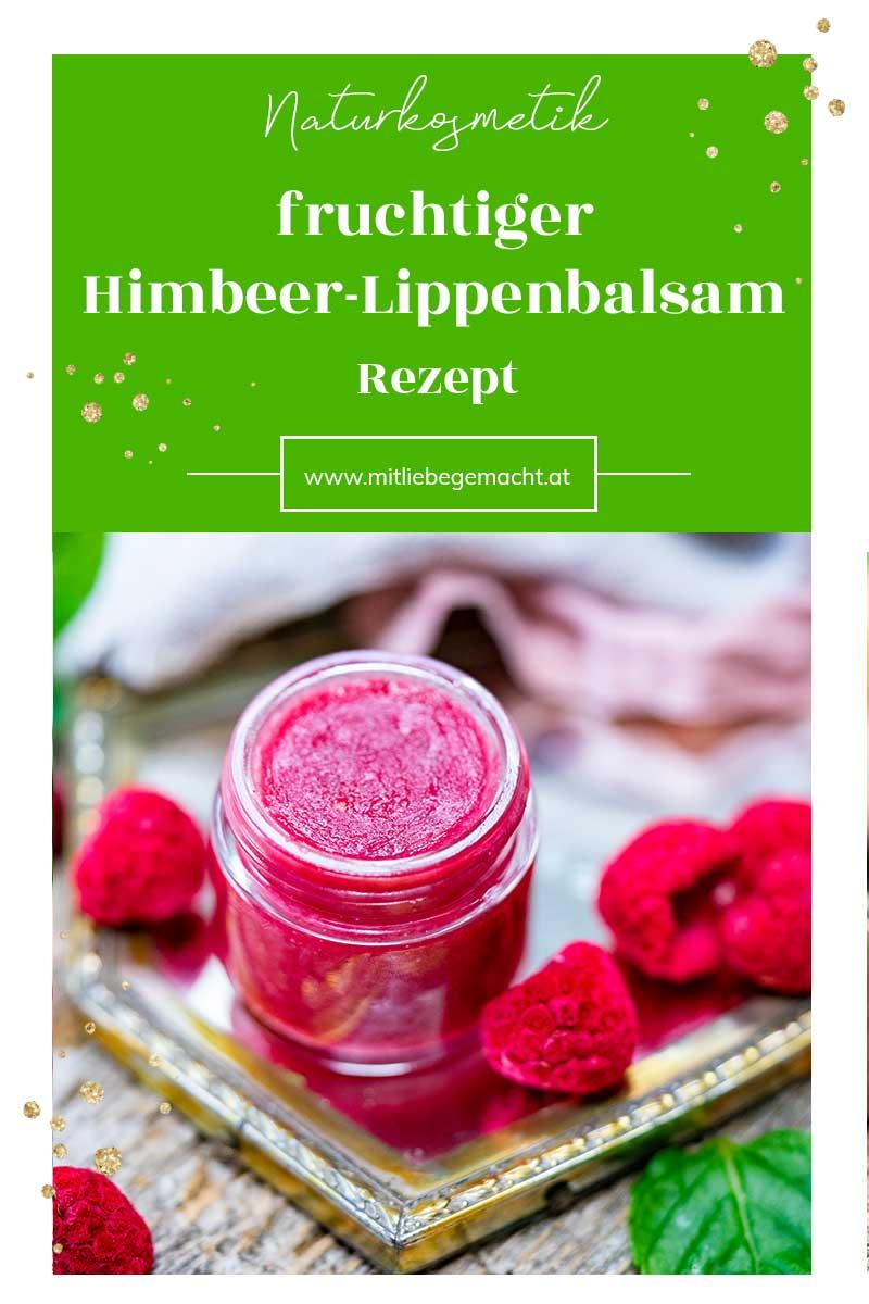 Himbeer Lippenbalsam selber machen